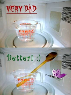 Microwaved Water