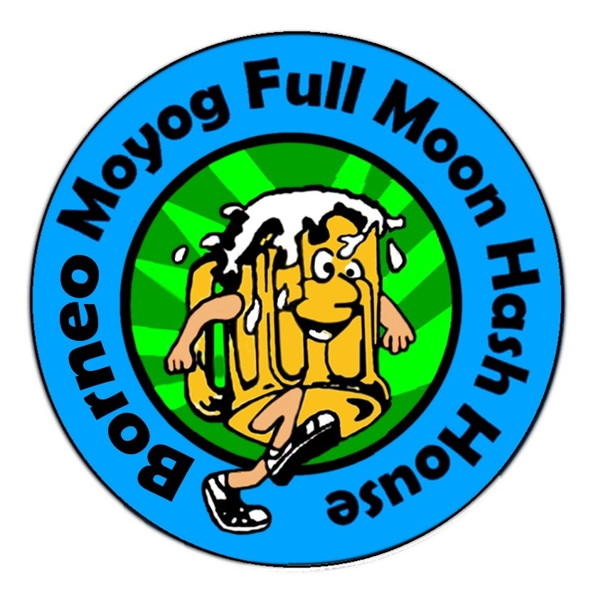 Borneo Moyog Full Moon Hash House
