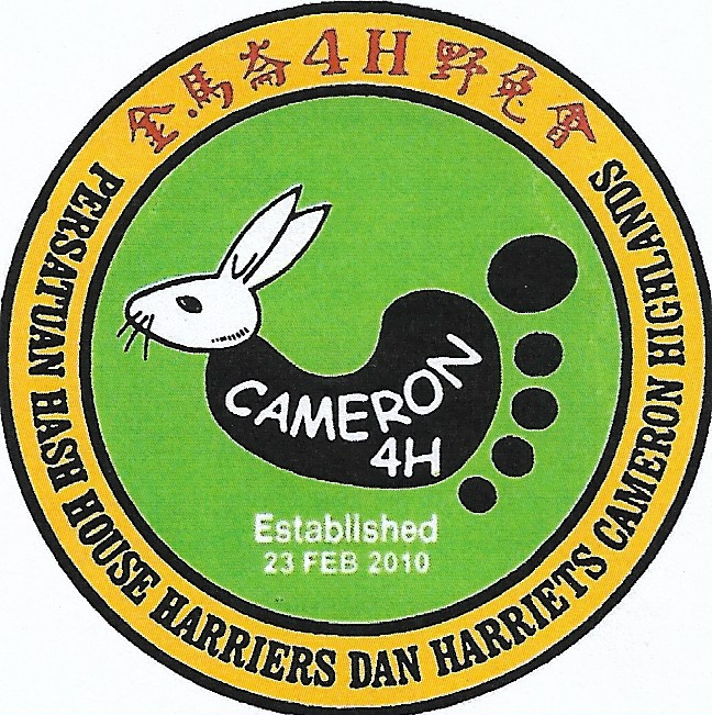 Persatuan Hash House Harriers & Harriets, Cameron Highlands.